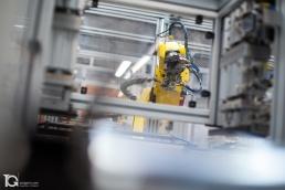 Línea de Montaje con robots