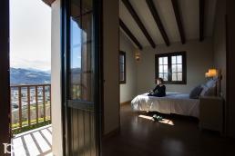 Habitación disponibles en la Casa Rural Markulluko Borda en Elizondo (Navarra)