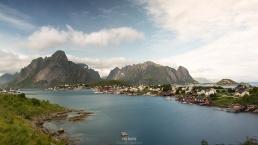 Vista general de Reine (Lofoten, Norway)