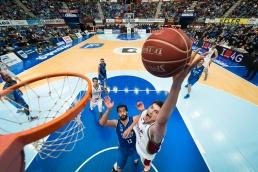 Partido baloncesto ACB Gipuzkoa basket vs. Laboral Kutxa