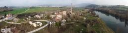 Fotografía aérea con drone de Aserradero de Ekai (Navarra) by yongarin.com