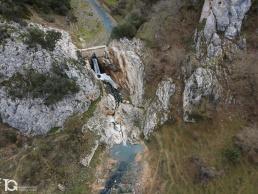 Fotografía aérea con drone de Salina de Oro (Navarra) by yongarin.com