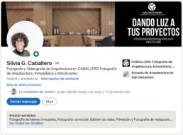 Perfil profesional de Silvia G. Caballero en LinkedIn